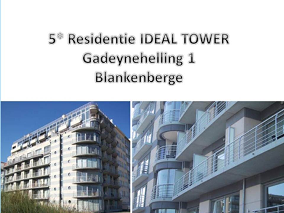 Blankenberge - Apt 2 Slpkmrs/Chambres - Ideal Tower